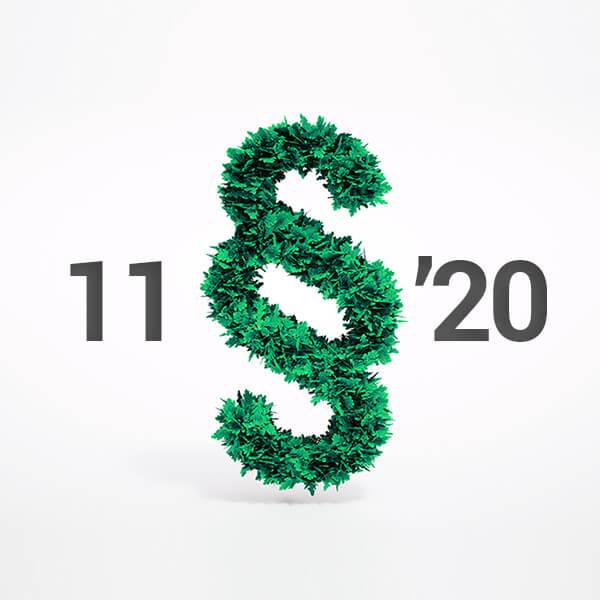 Zmeny v legislatíve životného prostredia 2020 - 11